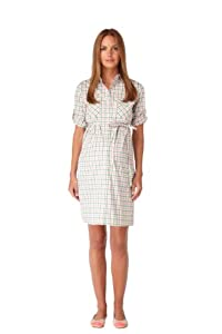 Rosie Pope Maternity Pocket Front Shirtdress
