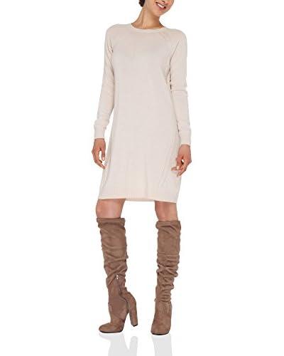 LOVE CASHMERE Vestido Marfil XL