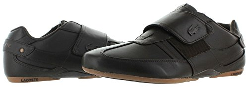 Lacoste Protected Prm Men's Strap Fashion Sneakers Shoes Brn Size 7.5