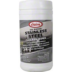 Claire C-993 Stainless Steel Wipes (Pack of 40) (Claire Stainless Steel Cleaner compare prices)
