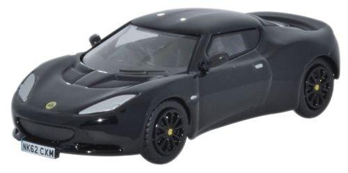 oxford-diecast-76lev002-lotus-evora-black