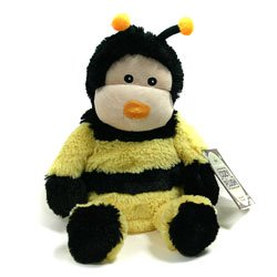 Cozy Plush Buzzy The Bee Microwavable Soft Toys Warm In A Microwave For Two Minutes To Release The Wonderfully Soothing Lavender Aroma front-314619