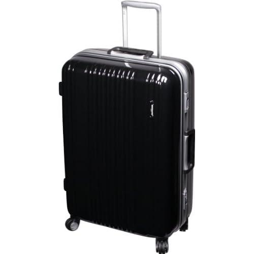 [バーマス]BERMAS スーツケース キャリーバッグ 4輪キャスター 75L TSAロック (ブラック)