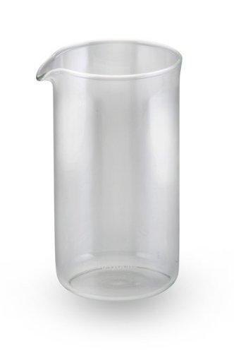 Bonjour French Press Replacement Glass Carafe 3-Cup Universal Design front-549031