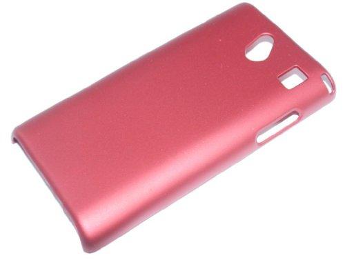 Hard Case Cover Busta Custodia per SAMSUNG OMNIA 7 i8700 rosso di RBrothersTechnologie