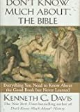 img - for Don't Know Much About the Bible by Christian Books store (1998) Paperback book / textbook / text book