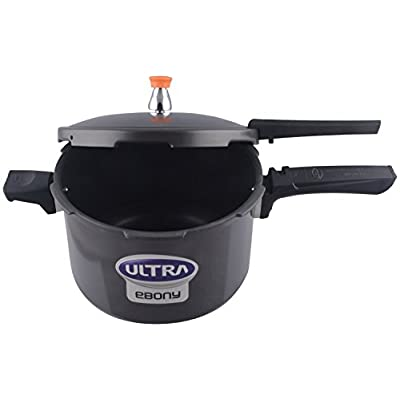 ULTRA Ebony 2L Hard Anodized Pressure Cooker