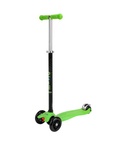 Maxi Micro Scooter Limited Edition Lime Green T-Bar