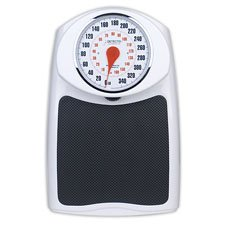 Detecto ProHealth Raised Dial Bathroom Scale, 160 kg
