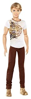 Barbie Ken Fashionistas Doll with Brown Jeans and White Tee