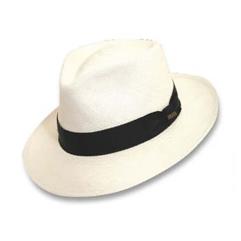 C crown panama hat