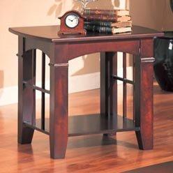 Cheap Abernathy End Table with Shelf by Coaster (B0051PE4E2)