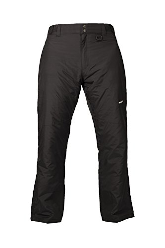Arctix Men's Essential Snow Pants, Black, Medium/Short (Fly Insulated Pants compare prices)