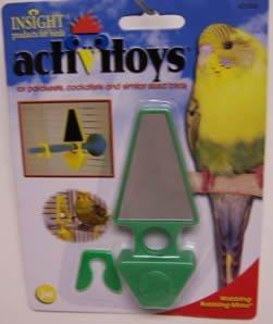 Cheap JW Pet Company Insight Activitoy Wobbling Bobbling Mirror Bird Toy (JW31060)