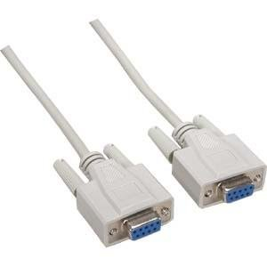 InstallerParts 6 ft DB9-F/F Null Modem Cable