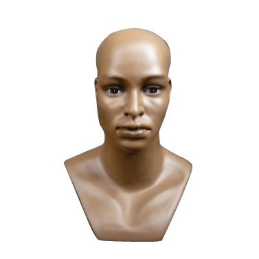 New Male Tall Realistic Mannequin Head, Hat, Scarf Display (H10) (Sewing Mannequin Male compare prices)