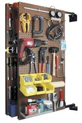 Images for Triton Products B1-2 Two XtraWall Swing Panel Pegboards 24-Inch W by 48-Inch H by 1-1/2-Inch D Wall Mount Double-Sided