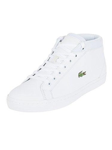 Lacoste Uomo Bianco Straightset Chukka SPM Sneakers-UK 7