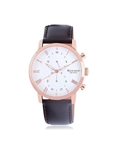 Rudiger Men's R2300-09-001 Bavaria Analog Display Quartz Brown Watch