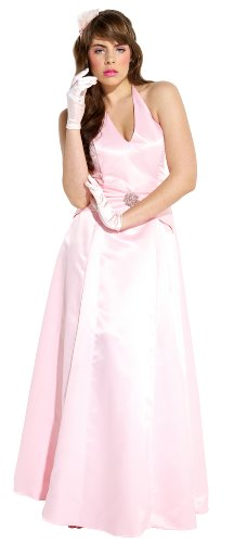 Satin Halter Dress Crystal Pin Prom Holiday Gown Formal Bridesmaid
