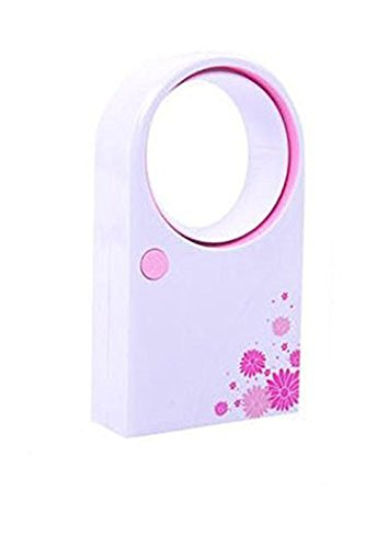 Air Multiplier Mini Fan Mini USB Air Condition Bladeless Portable Refrigeration Fans Desktop Usb Fan Without Noise (pink)
