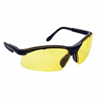 Sidewinders Safety Glasses - Black Frames/Yellow Lens