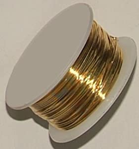 24 gauge round silver plated gold copper craft for 24 gauge craft wire