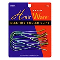 Spilo Hair Ware Electric Roller Clips 8ct