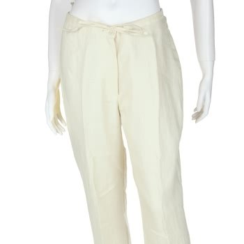 Drawstring linen pants for women. 100% irish linen