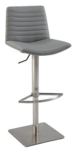 Adjustable Height Bar Stool 0572-AS-GRY