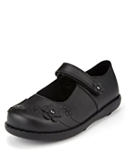 Wide Fit Scuff Resistant Patent Leather Shoes