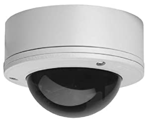Pelco IS110 Camclosure Surface Mount Rugged Color Dome Camera 3-9mm Lens