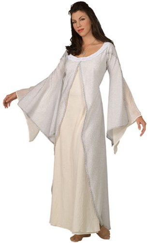 Rubie's Costume Women's Lord Of The Rings Deluxe White Arwen Dress