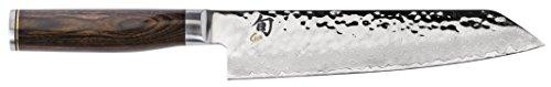 "Shun TDM0771 Premier Kiritsuke Knife, 8"", Silver"