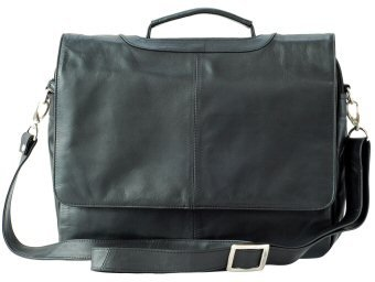Visconti Leather Bag Style 659 Black