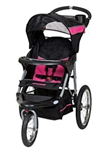 Baby Trend Expedition Jogger Stroller, Bubble Gum. Lightweight Baby Jogging Stroller In Pink/Black on SALE!! This Running Stroller Is Easy To Push and Comfortable For Bub. Jogging Strollers Allow You To Exercise While Your Baby Travels In Comfort.
