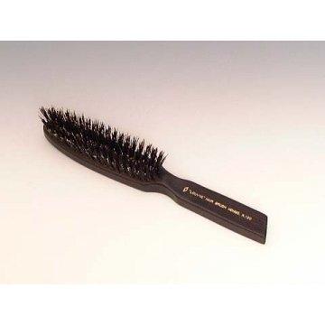 ホンゴ ルーブルエリートヘアブラシKー120 柄黒檀 材質猪毛