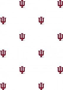 Indiana university hoosiers set of 2 wallpaper rolls - Indiana university logo wallpaper ...