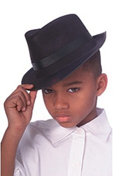 Durashape Fedora Top Hat (Brown) Child Accessory