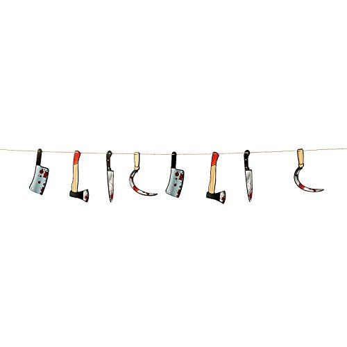 Bloody Weapon 7 Feet Party Decoration Garland