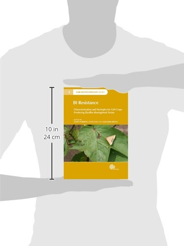 Bt Resistance: Characterization and Strategies for GM Crops Expressing Bacillus Thuringienisis Toxins (CABI Biotechnology Series)