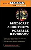 img - for Landscape Architect's Portable Handbook 1st (first) edition Text Only book / textbook / text book