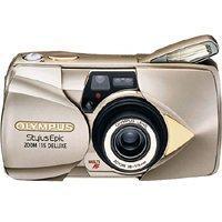 OLYMPUS Stylus Epic Zoom 115 Deluxe 35mm Camera Kit