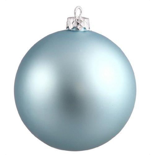 Vickerman 34877 – 3″ Baby Blue Matte Ball Christmas Tree Ornament (12 pack) (N590832DMV)