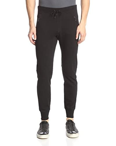 John Varvatos Star USA Men's Knit Biker Pant