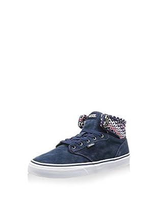 Vans Zapatillas abotinadas Atwood Hi (Azul Oscuro / Crema)
