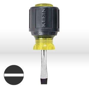 Klein 600-1 1/4-Inch Keystone 1-1/2-Inch Heavy-Duty Round Shank Tip Screwdriver