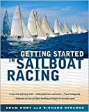 img - for Getting Started in Sailboat Racing 1st (first) edition Text Only book / textbook / text book