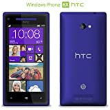 HTC 8X Windows Phone 8 UK Sim Free Smartphone - Blue