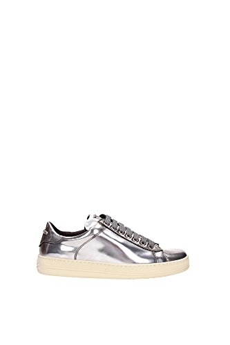 115W1194TMCASILSILVER-Tom-Ford-Sneakers-Femme-Cuir-Argent